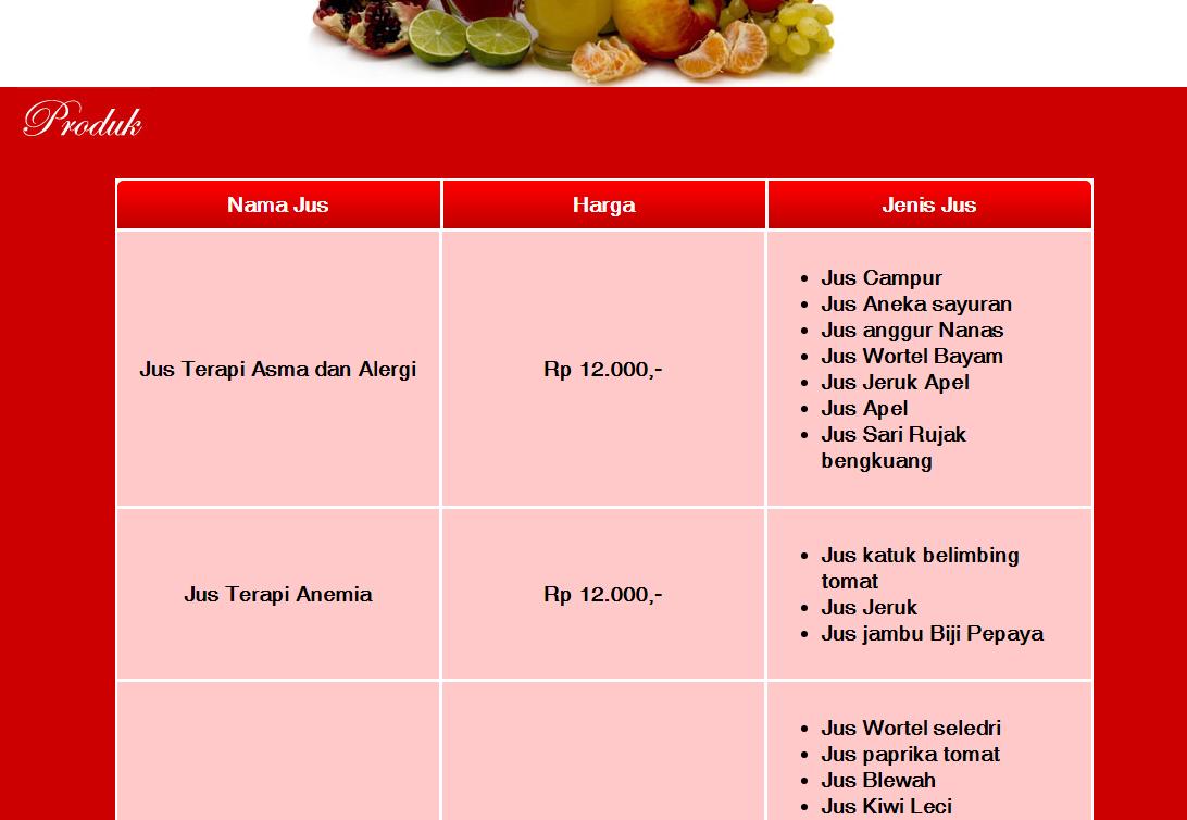 HadidSama.com - Website Development Produk JusTerapi.com